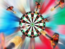 Classic Darts Board Stock Photos