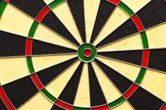Classic Darts Board with Twenty Black Royalty Free Stock Photo