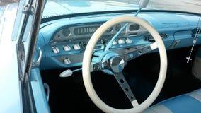 Classic dash. Classic auto dash stock photography
