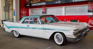 Classic 1959 De Soto Automobile Royalty Free Stock Photography