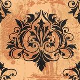 Classic Decor Element. On grunge background, editable  illustration Royalty Free Stock Photos