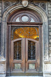 Classic decorated door Stock Photo