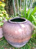 Classic decorative pot Stock Image
