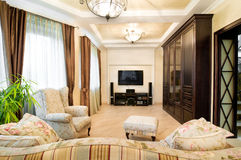 Classic design. Design of an interior.Classic Royalty Free Stock Image