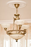 Classic design of chandelier. In the interior Stock Image