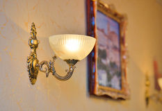 Classic design of sconce Royalty Free Stock Image