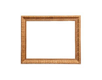 A classic design wood frame Stock Images