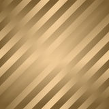 Classic diagonal lines pattern on gold. Vector design Royalty Free Stock Image
