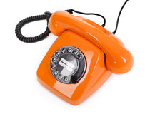 Classic dial phone Stock Image