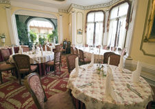 Classic dining room Royalty Free Stock Photos
