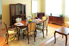 Classic dining room Royalty Free Stock Image