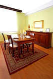 Classic dining room Stock Photography