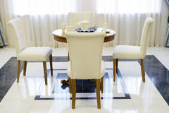 Classic Dining Room Stock Photo