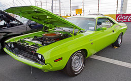 Classic 1970 Dodge Challenger Royalty Free Stock Images