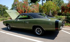 Classic Dodge Charger car Stock Photography