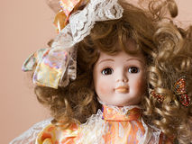 Classic doll Royalty Free Stock Image