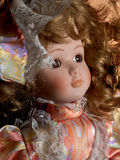 Classic doll. A classic female doll detail royalty free stock photo