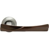 Classic door handle side view Stock Image