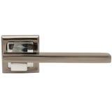 Classic door handle side view Stock Image