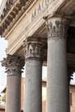 Classic doric style column Stock Images