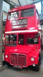 Classic double decker of London. Old double decker at London transport museum Royalty Free Stock Photography