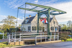 Classic  draw bridge in Holland, Netherlands Stock Images