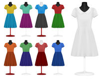 Classic dress Stock Images