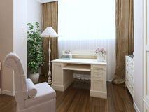 Classic dressing corner interior Royalty Free Stock Photos