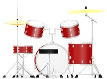 Classic drumset Royalty Free Stock Photo