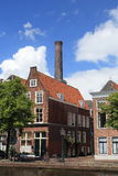 Classic Dutch house with chimney Royalty Free Stock Photography