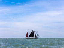 Classic Dutch sailing ship Royalty Free Stock Photography