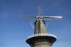 Classic dutch windmill Stock Image