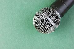 Classic dynamic microphone Royalty Free Stock Photos
