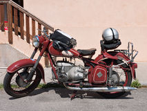 Classic East German ifa motorcycle Stock Images