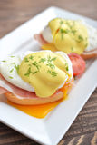 Classic Egg Benedict Royalty Free Stock Images