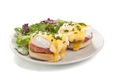Classic Eggs Benedict Stock Images