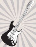 Classic Electric Guitar Royalty Free Stock Photo