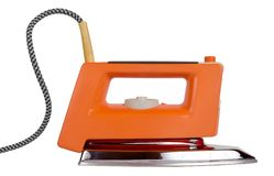 Classic electric iron Royalty Free Stock Photos