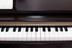 Classic electric pianos. Close up Classic electric pianos Stock Photography