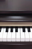 Classic electric pianos. Front view Royalty Free Stock Photos