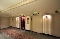 Classic Elevator Lobby Royalty Free Stock Photos