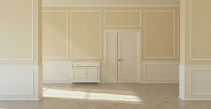Classic empty room Royalty Free Stock Photo