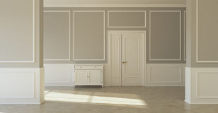 Classic empty room Royalty Free Stock Image