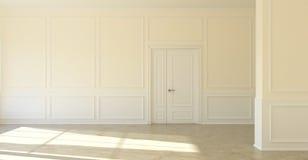 Classic empty room Stock Photos