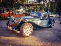 Classic epoque sport model car from Bucharest Royalty Free Stock Photos