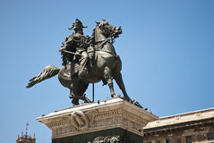 Classic equestrian statue Royalty Free Stock Photos