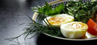 Classic ethnic vegetarian breakfast Royalty Free Stock Image