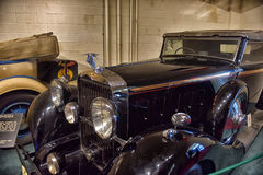 Classic european car water filler cap Royalty Free Stock Photo