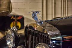Classic european car water filler cap Stock Image