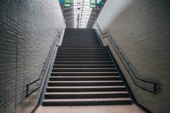 Classic european staircase royalty free stock photo